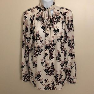 Vince Camino Floral Blouse